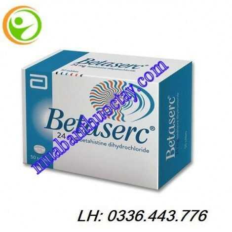 Thuốc Betaserc® 24mg hộp 50 viên
