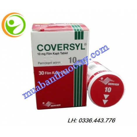 Thuốc Coversyl® 10mg điều trị cao huyết áp