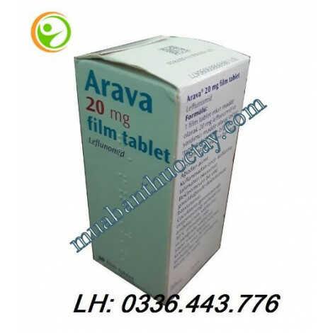 Thuốc đặc trị viêm khớp Arava 20mg