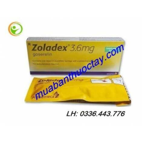 Thuốc Zoladex 3.6mg trị ung thư tuyến tiền liệt