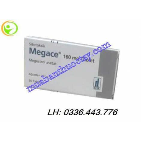 Thuốc Megace® 160mg hộp 30 viên trị ung thư vú