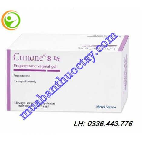Thuốc điều trị vô sinh Crinone® 8%