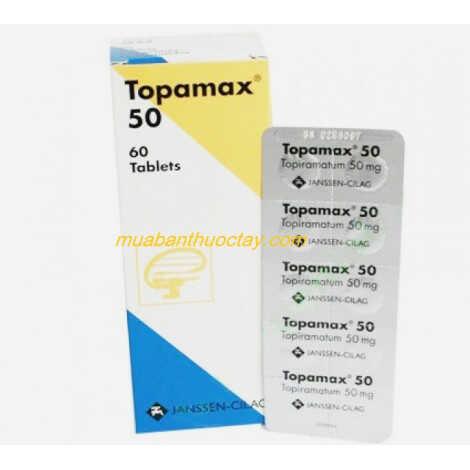 Thuốc động kinh Topamax 50 mg