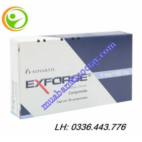 Thuốc exforge® 5/160 điều trị huyết áp
