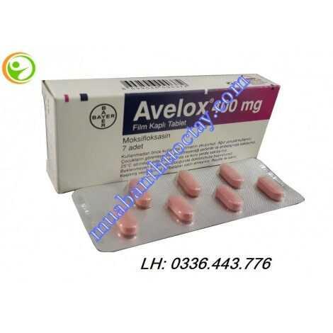 Thuốc kháng khuẩn Avelox® 400mg