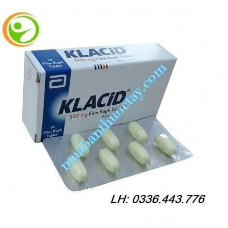 Thuốc kháng viêm Klacid® 500mg