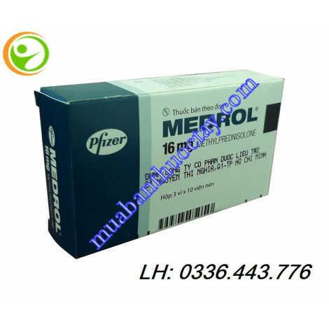 Thuốc kháng viêm Medrol® 16mg