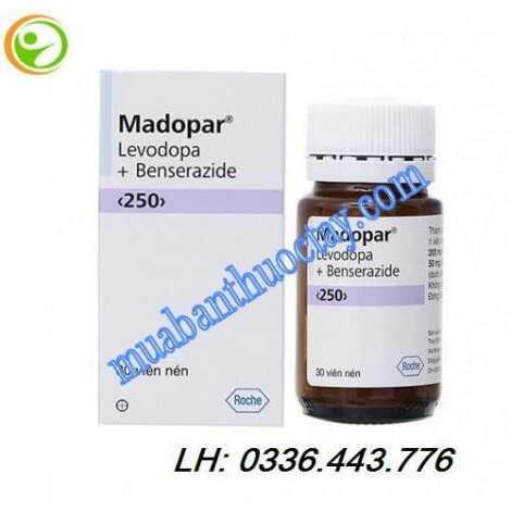 Thuốc madopar® 250mg đặc trị Parkinson