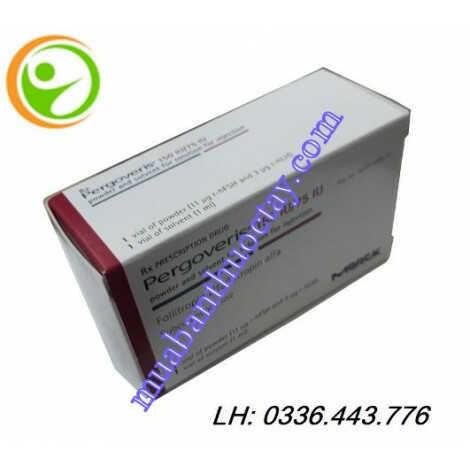 Thuốc pergoveris® 150UI/75UI kích thích tăng trưởng buồng trứng