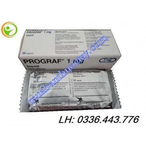 Thuốc phòng thải ghép gan Prograf® 1mg