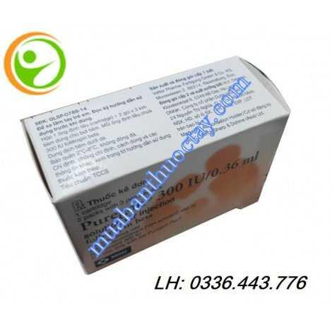 Thuốc puregon® 300iu tăng kích thích buồng trứng
