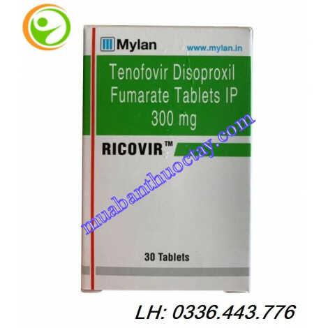 Thuốc Ricovir™ 300mg thuốc trị viêm gan B