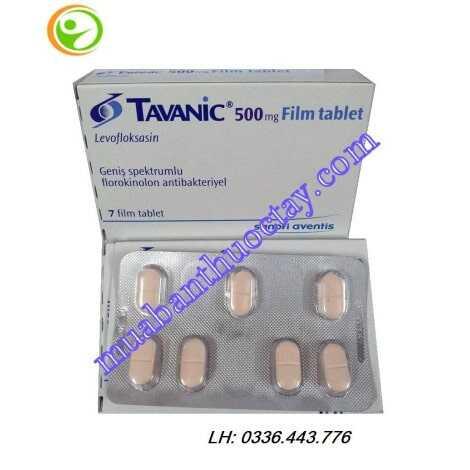Thuốc Tavanic® 500mg kháng viêm