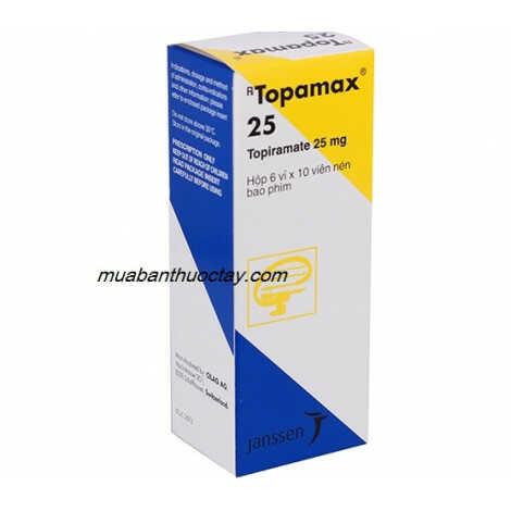 Thuốc trị động kinh Topamax® 25mg