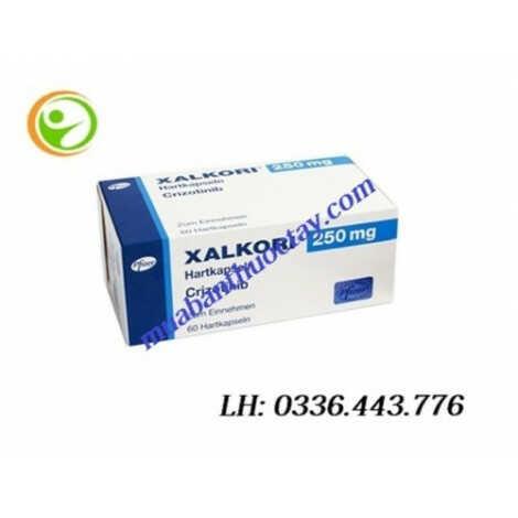 Thuốc ung thư phổi Xalkori® 250mg