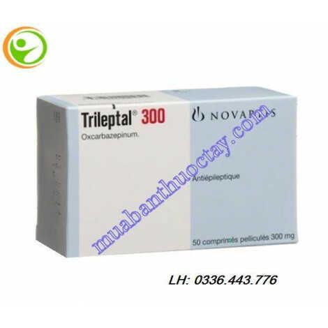 Thuốc Trileptal 300mg trị co giật
