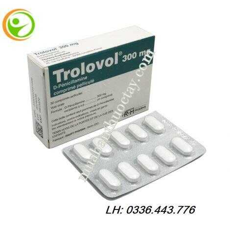 Thuốc viêm khớp Trolovol® 300mg