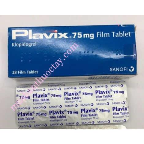 Thuốc xơ vữa động mạch Plavix® 75mg