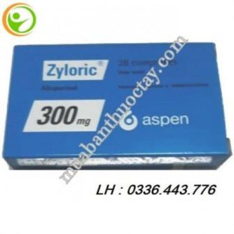 Thuốc trị gout Zyloric 300mg