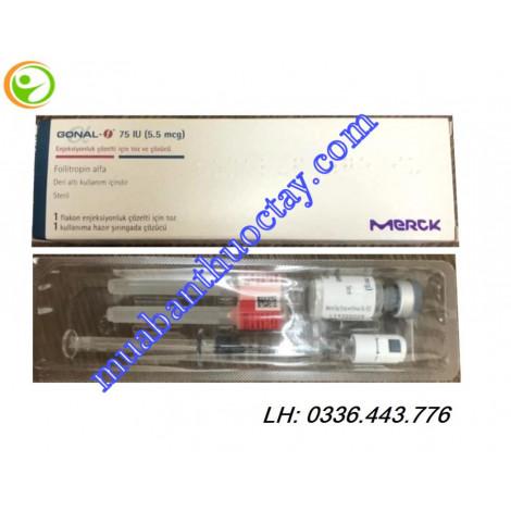 Thuốc tiêm GONAL-f 75 IU điều trị vô sinh và hiếm muộn