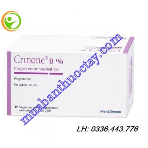 Thuốc điều trị vô sinh Crinone 8%