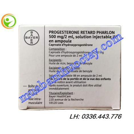 Progesterone Retail 500 mg/2 ml