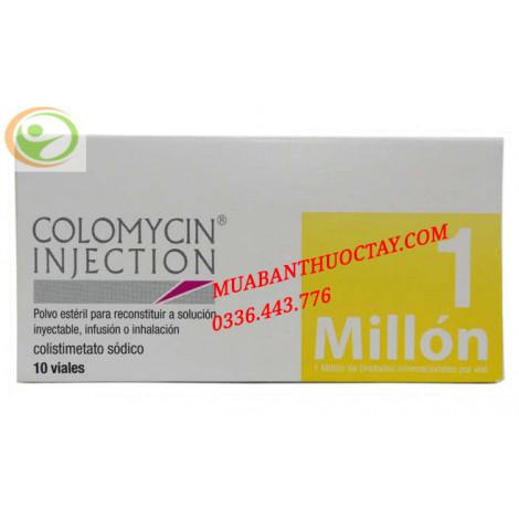 Colomycin injection thuốc kháng sinh