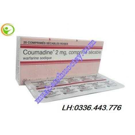 Thuốc chống đông Coumadin 2mg