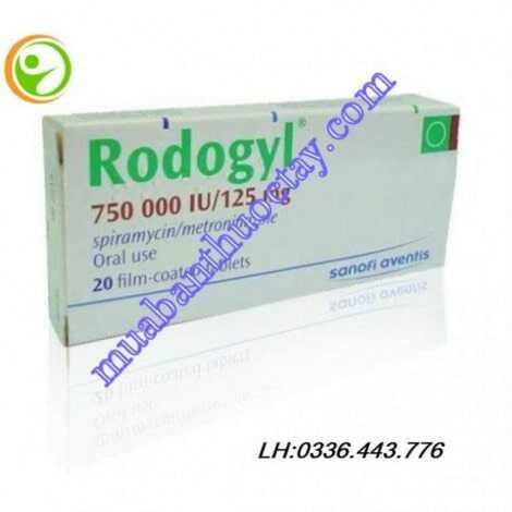 Thuốc chữa viêm răng lợi Rodogyl