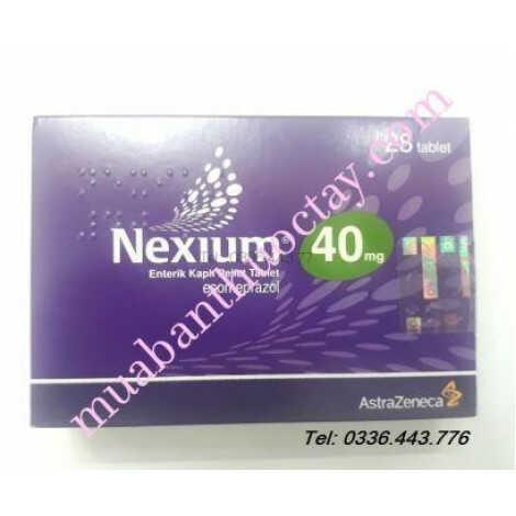 Thuốc dạ dày Nexium 40mg 28 viên