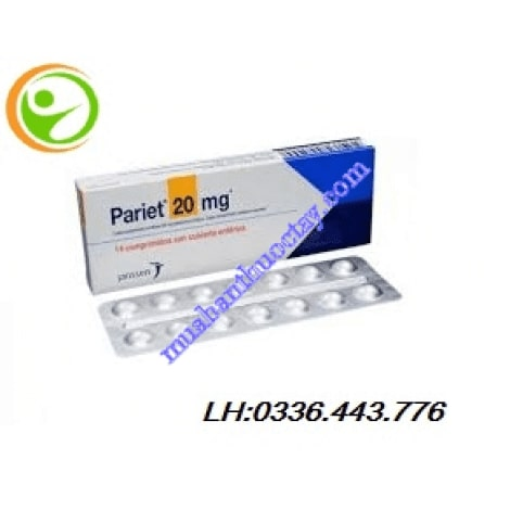 Thuốc dạ dày Pariet 20mg
