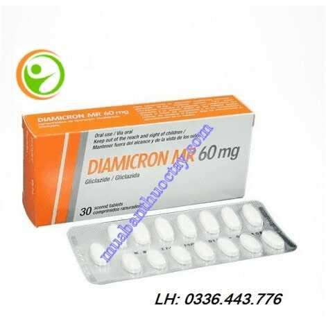 Thuốc Diamicron MR 60mg 60 viên