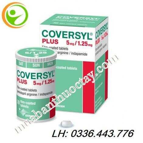 Thuốc huyết áp Coversyl® plus 5mg/1.25mg