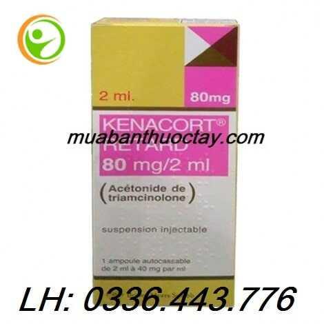Thuốc Kenacort Retard 80 mg/2ml