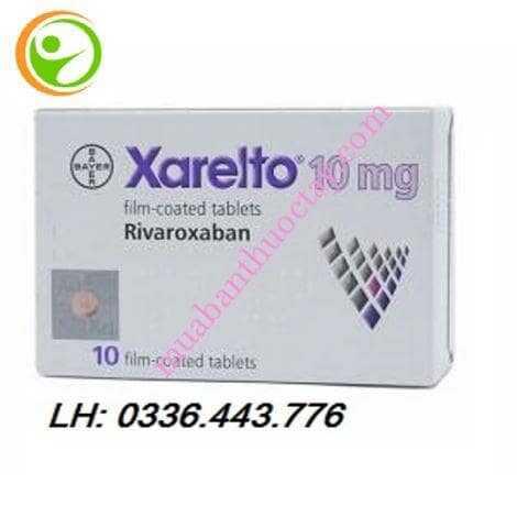 Thuốc kháng đông Xarelto® 10mg