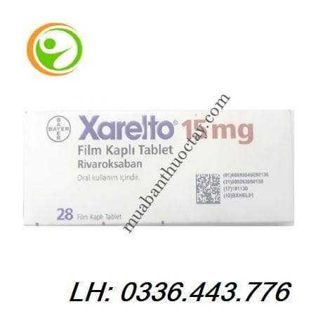 Thuốc kháng đông Xarelto® 15mg