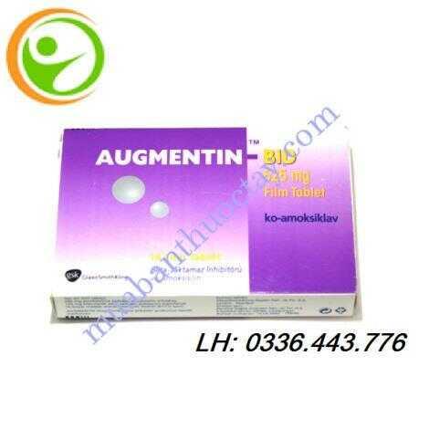 Thuốc kháng sinh Augmentin BID 625 mg