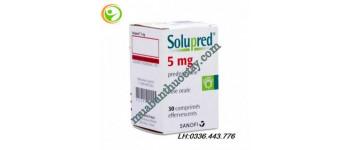 Solupred 5mg là thuốc ...