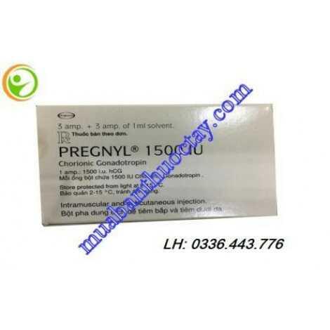 Thuốc kích trứng Pregnyl® 1500IU