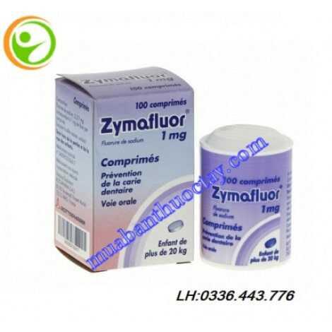 Thuốc ngừa sâu răng Zymafluor® 1mg