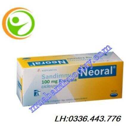 Thuốc ngừa thải ghép gan thận Neoral® 100mg