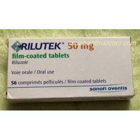 Rilutek 50mg Thuốc trị teo cơ