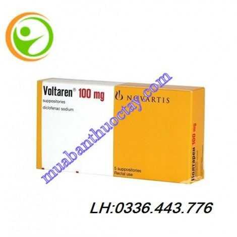 Thuốc giảm đau kháng viêm Voltaren 100mg
