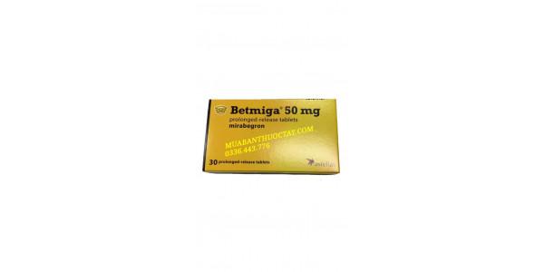 Betmiga 50mg là thuốc ...
