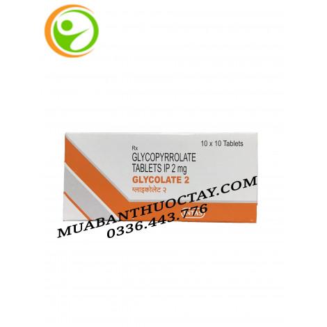 Glycolate 2mg thuốc trị viêm loét dạ dày tá tràng