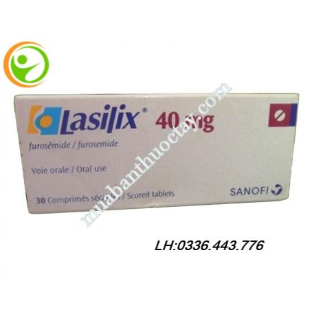 Thuốc Lợi tiểu Lasilix 40mg