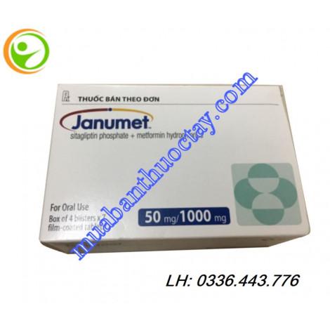 Thuốc tiểu đường Janumet 50mg/1000mg