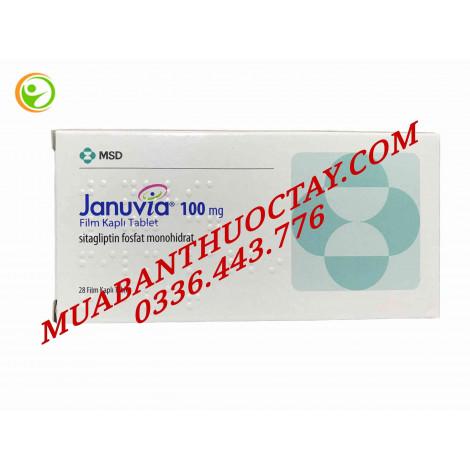 Thuốc trị tiểu đường Januvia 100mg