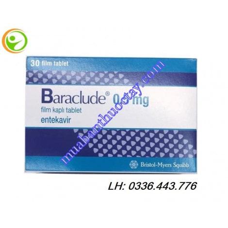Thuốc viêm gan B Baraclude 0.5mg