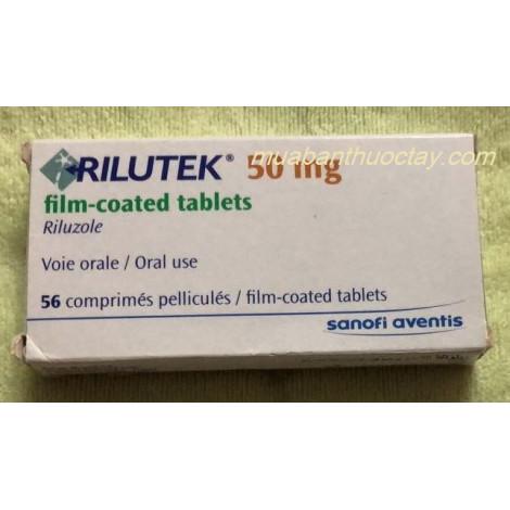 Thuốc  trị teo cơ Rilutek 50mg